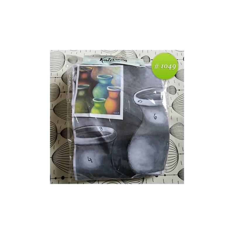 Jarrones coloridos 35x40cm - Kartesanias