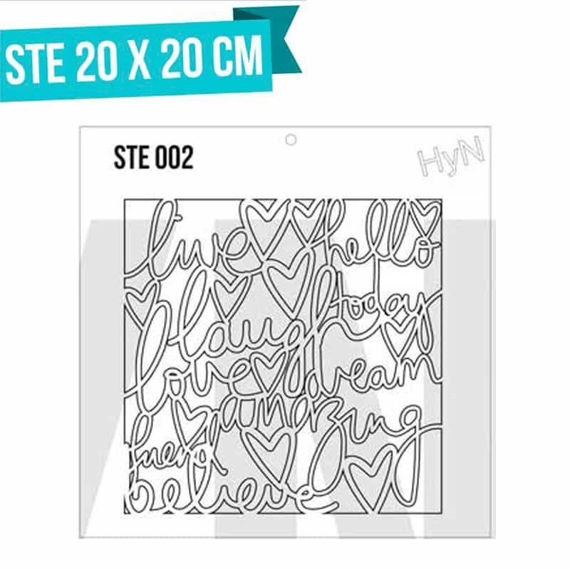 Stencils serie STE - HyN