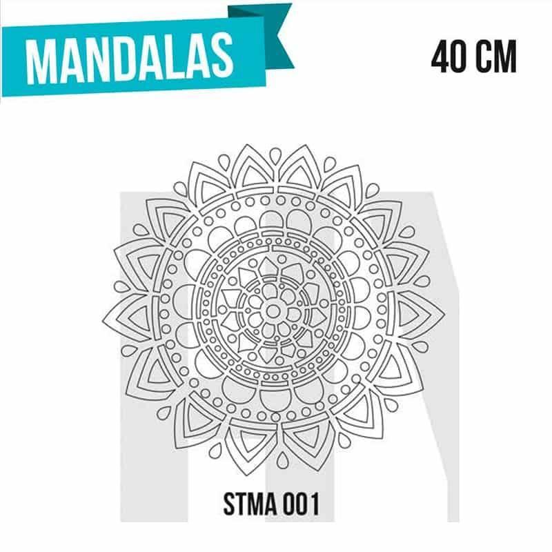 Stencils Mandalas 40cm - HyN