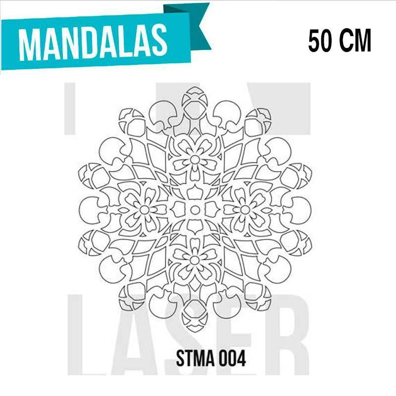 Stencils Mandalas 50cm - HyN