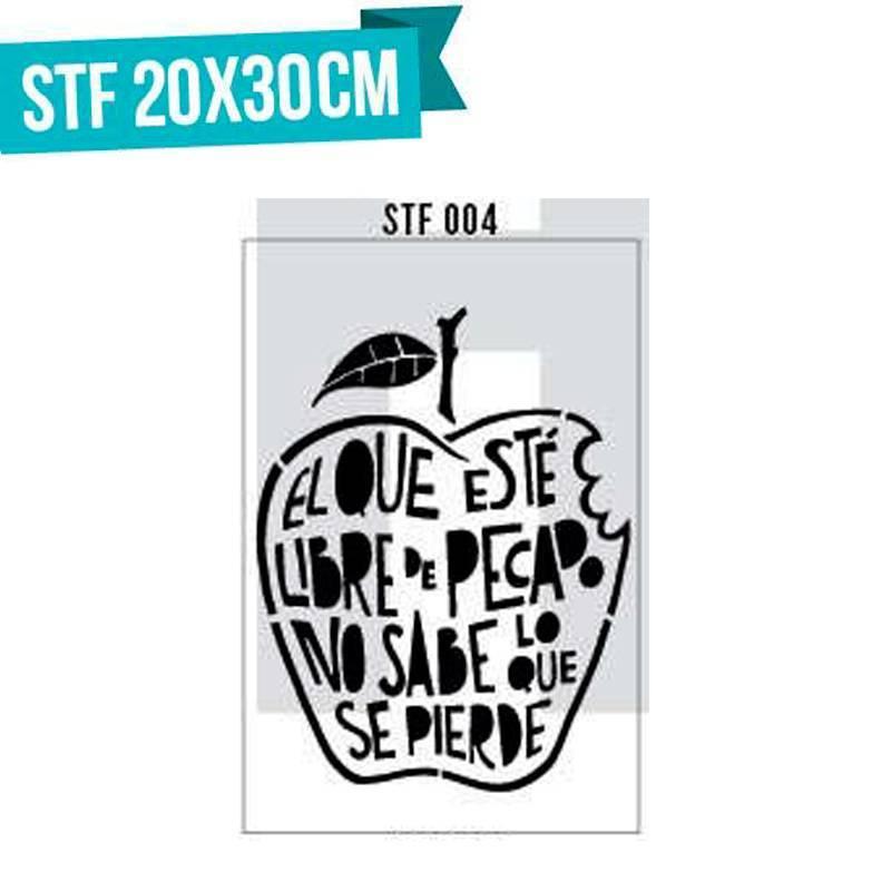 Stencils serie STF 01 al 20...