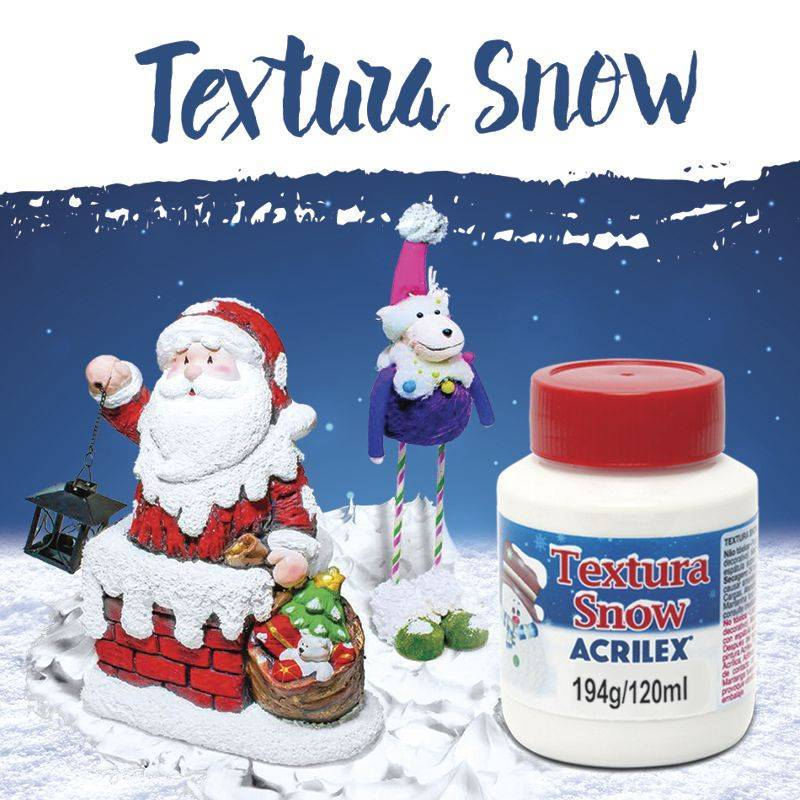 Textura Acrilex x 120ml - Snow