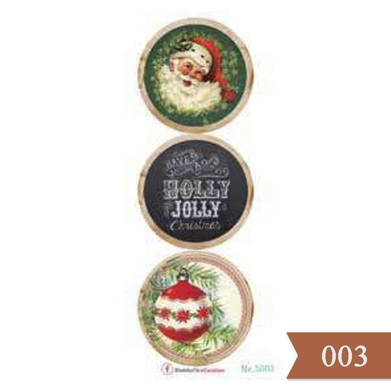 Etiquetas Navidad 15x30cm...