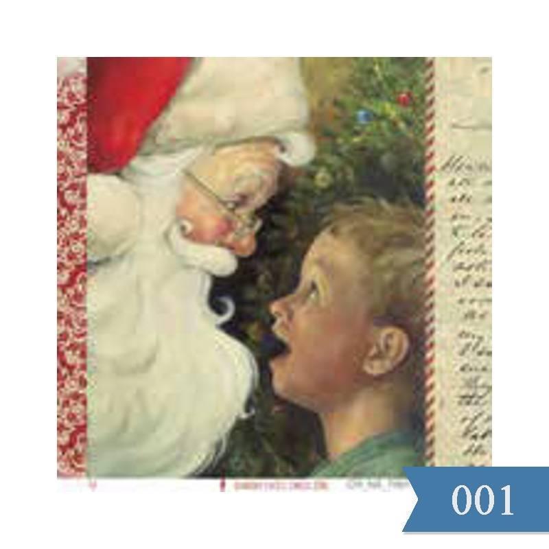 Laminas Navidad 15x15cm...