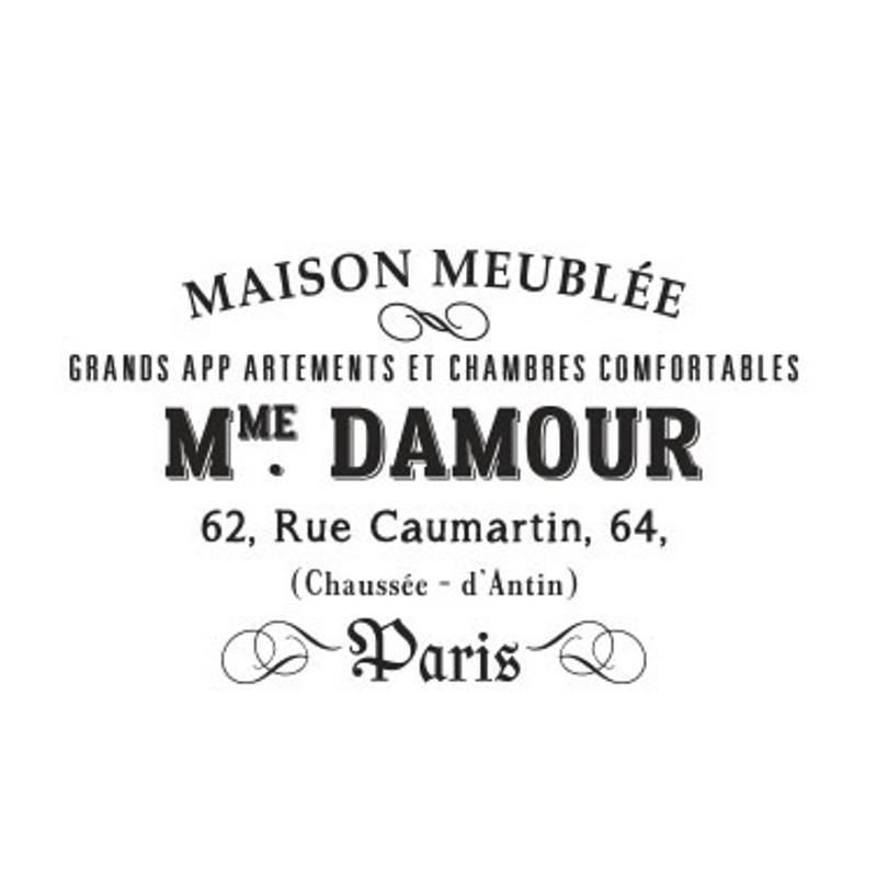 Sello Maison Meuble - Arrolete