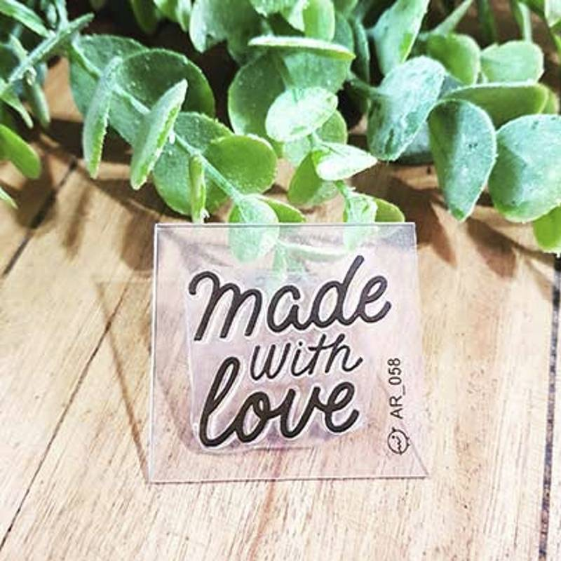 Sello Made with love -...