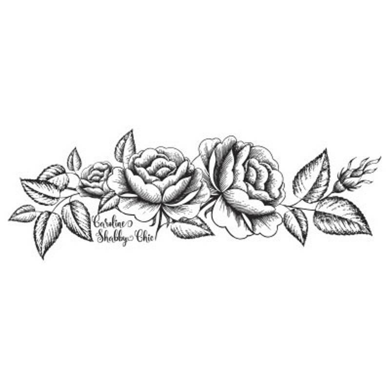 Sello Rosas XL - Arrolete