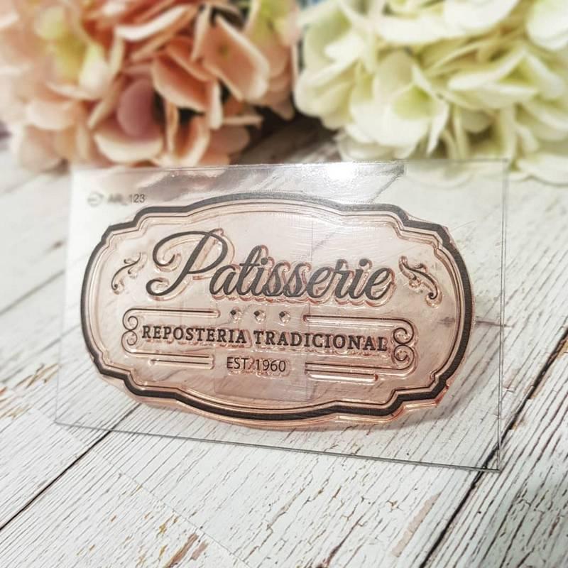 Sello Patisserie Reposteria...