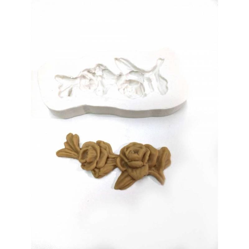 Molde Mini Rosas - Craquelina