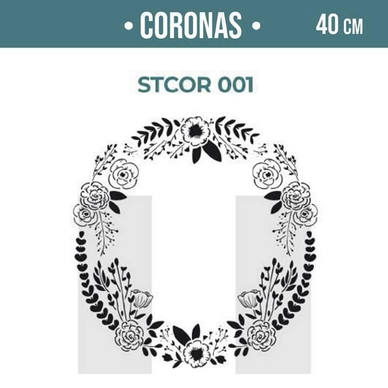 Stencils Corona 40cm - HyN