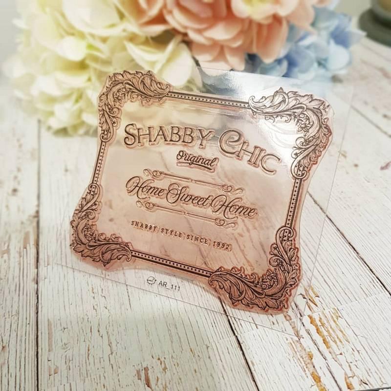 Sello Placa Shabby - Arrolete