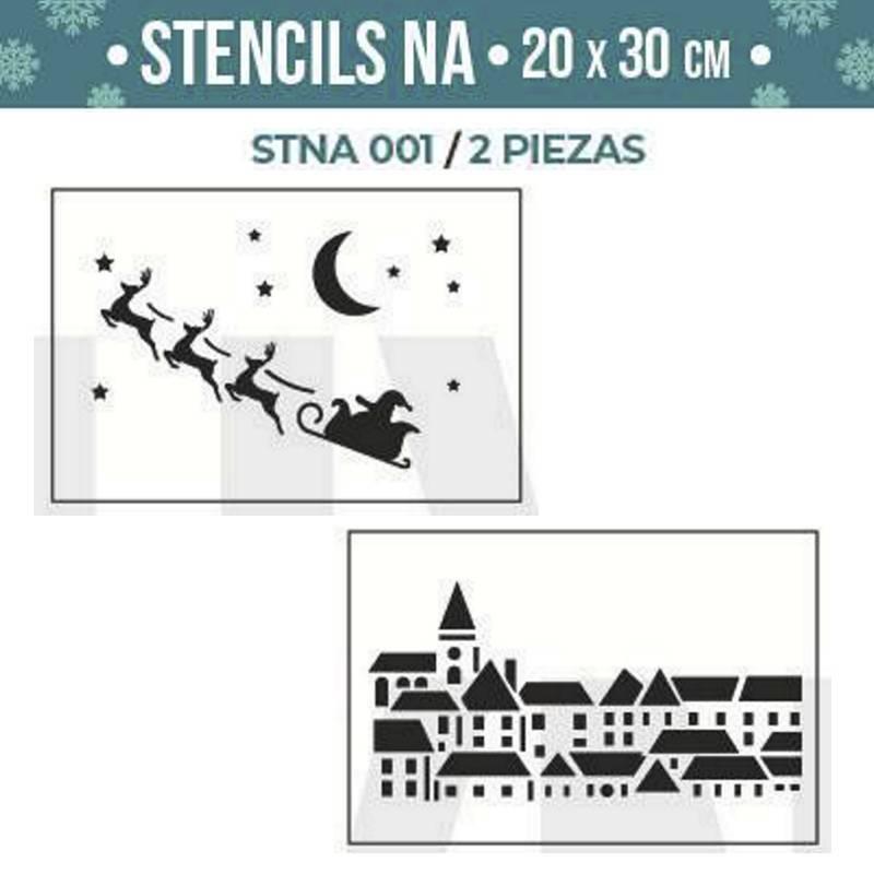 Stencils Navidad serie STNA...