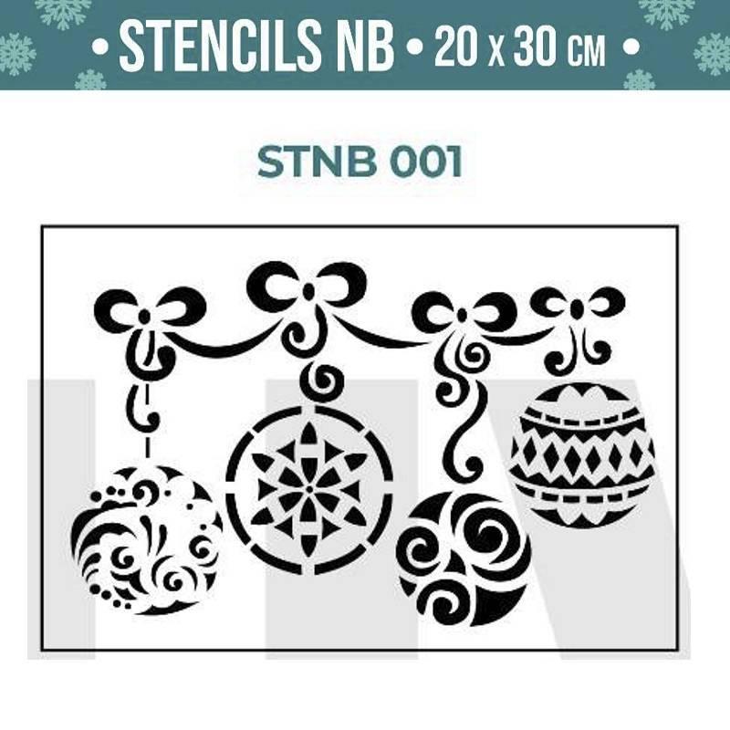 Stencils Navidad serie STNB...