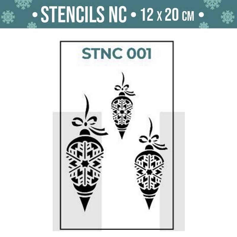 Stencils Navidad serie STNC...