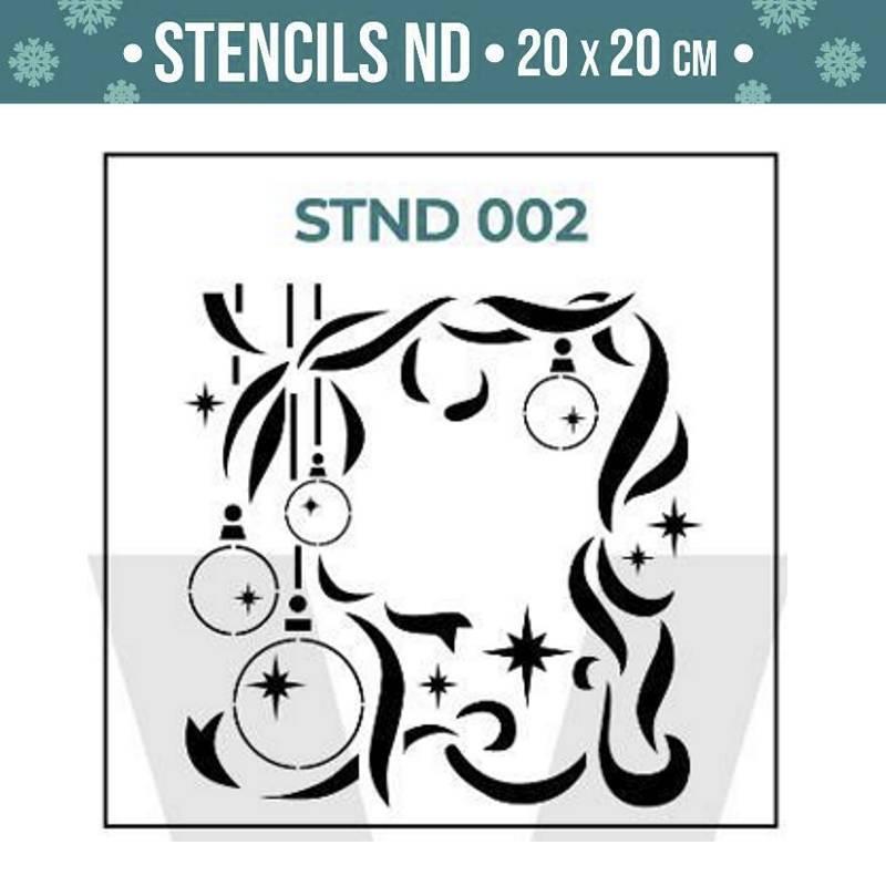 Stencils Navidad serie STND...