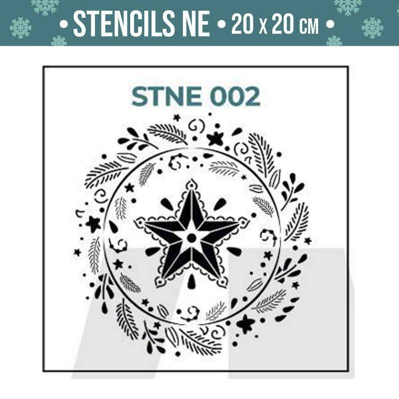Stencils Navidad serie STNE...