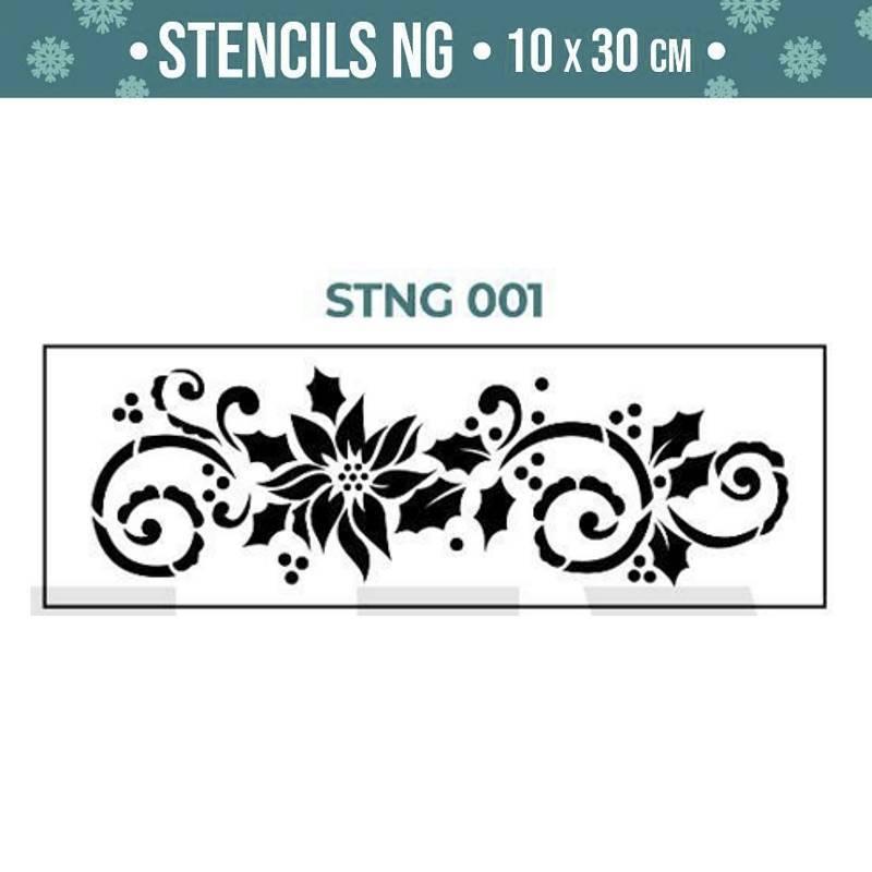 Stencils Navidad serie STNG...