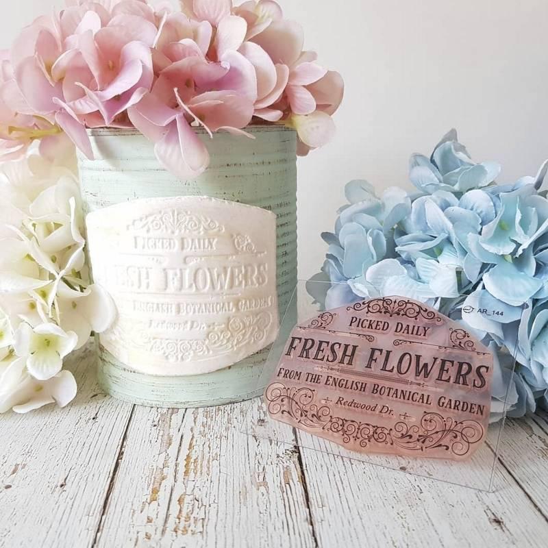 Sello Fresh Flowers...