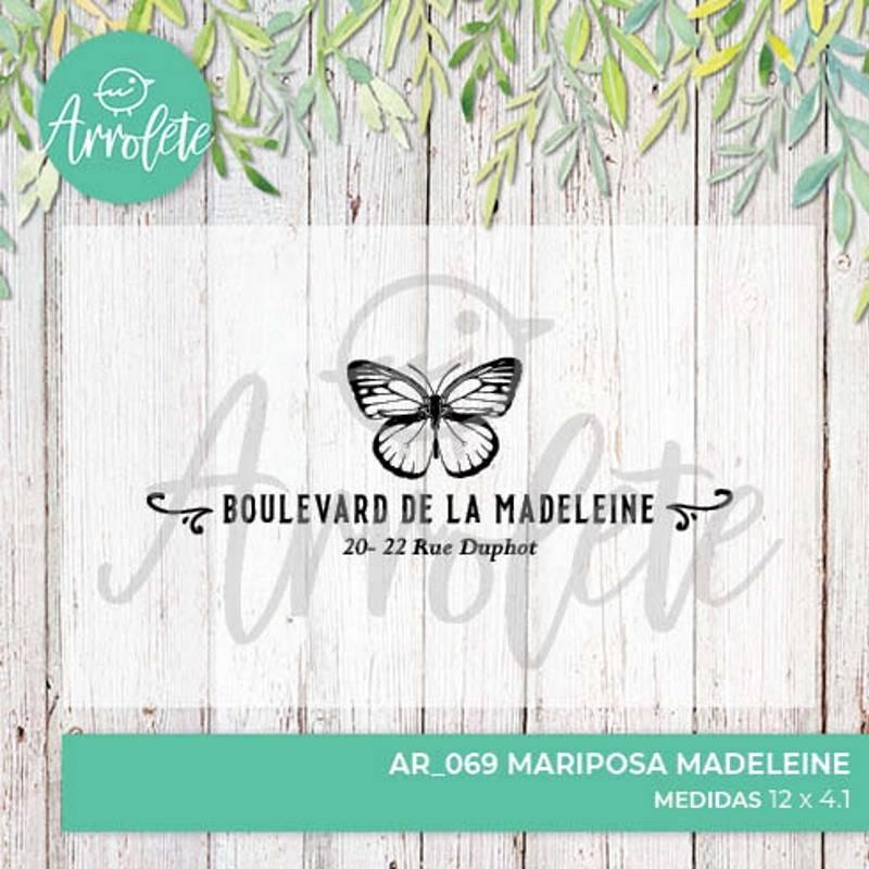 Sello Mariposa Madeleine...