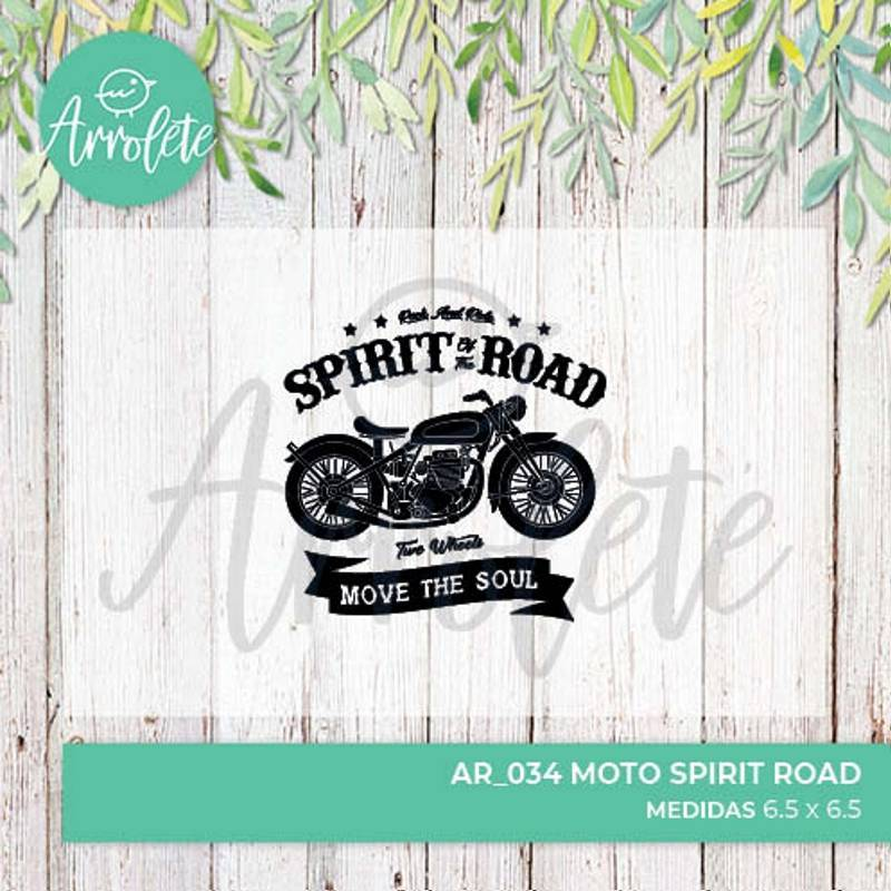 Sello Moto Spirit Road...