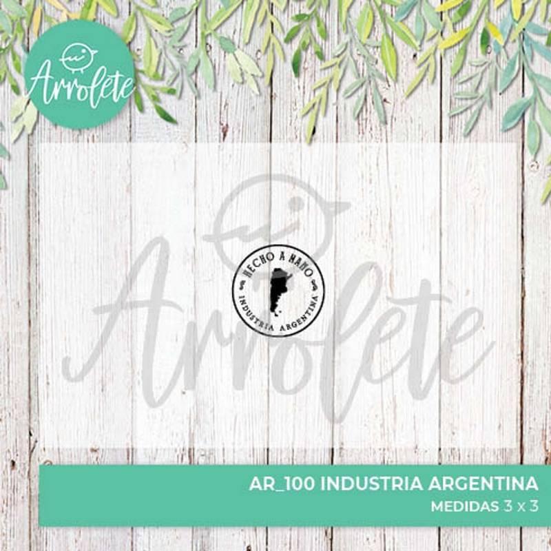 Sello Industria Argentina...