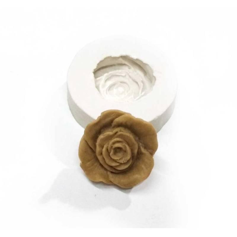 Molde Rosa Tirador - Craquelina