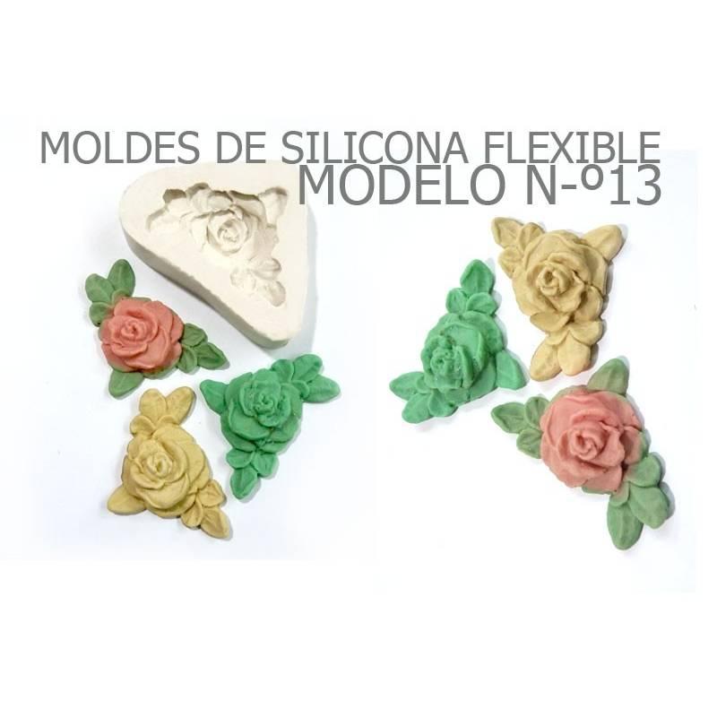Molde Rosa - Craquelina