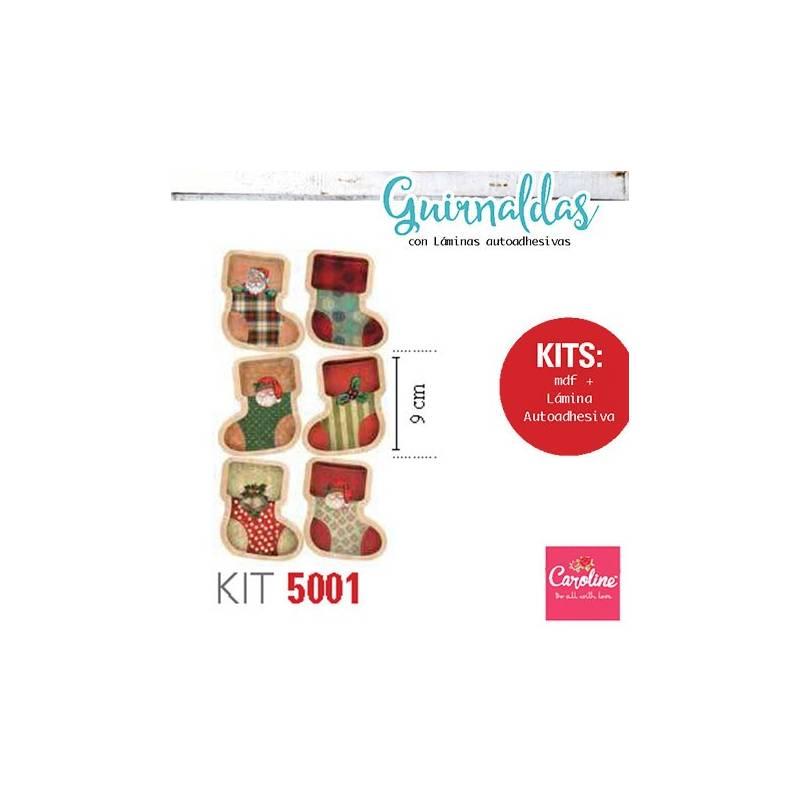 Guirnaldas Navidad Kit 5001 - Caroline
